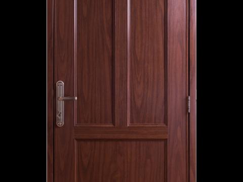 Assembled door